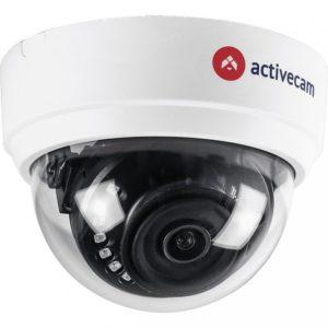 ActiveCam AC-H1D1 2.8 1 Мп уличная купольная CVBS, CVI, TVI, AHD видеокамера с подсветкой до 20м