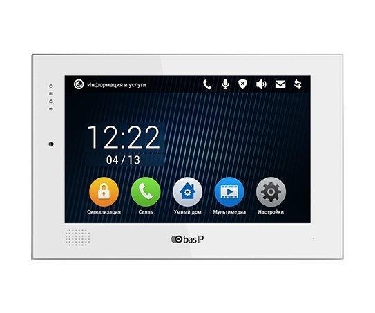 "BAS-IP AQ-10 WHITE 10"" цветной IP видеодомофон"