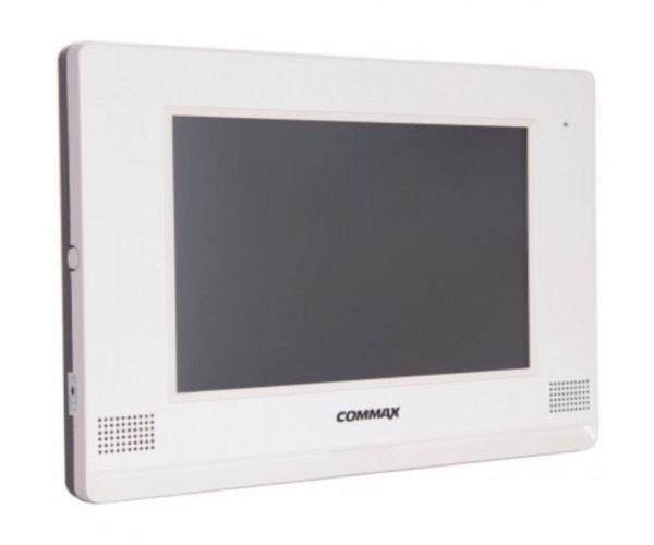 """Commax CDV-1020AE белый 10"""" цветной CVBS видеодомофон"""