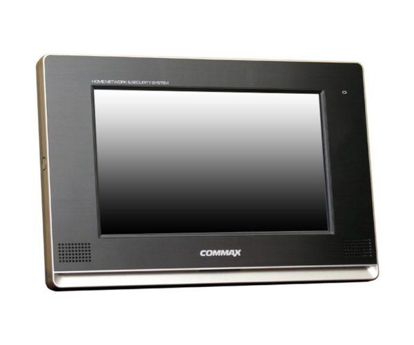 "Commax CDV-1020AQ/VZ CDV-1020AQ-Vizit чёрный 10.2"" цветной CVBS видеодомофон"
