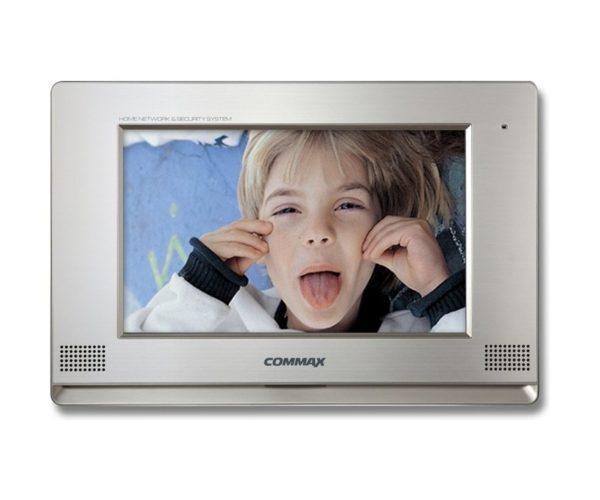 "Commax CDV-1020AQ/XL серебро 10.2"" цветной CVBS видеодомофон"
