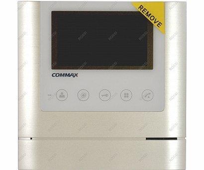 """Commax CDV-43M Metalo белый 4.3"""" цветной CVBS видеодомофон"""