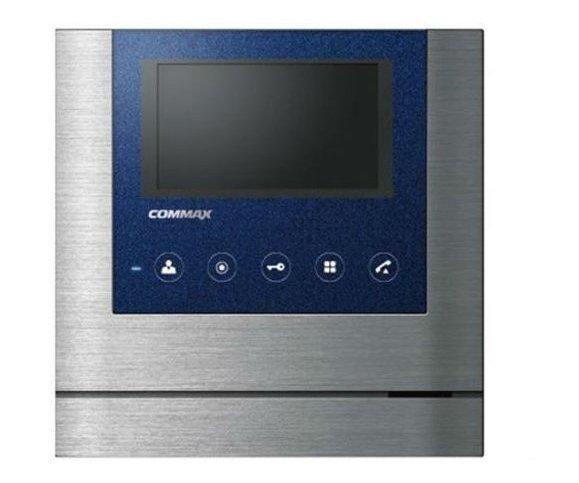 """Commax CDV-43M Metalo черный 4.3"""" цветной CVBS видеодомофон"""