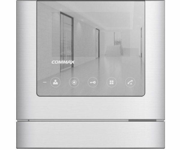"""Commax CDV-43M Mirror белый 4.3"""" цветной CVBS видеодомофон"""