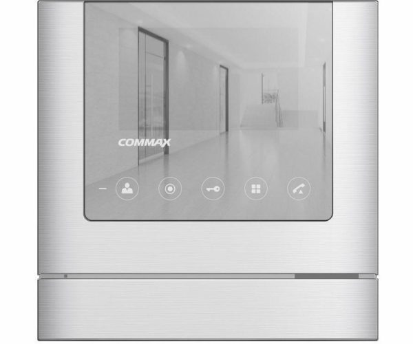 "Commax CDV-43M Mirror серебро 4.3"" цветной CVBS видеодомофон"