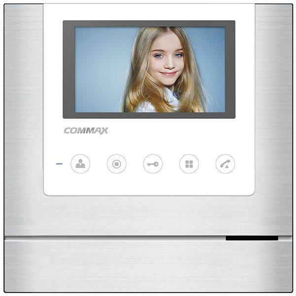 """Commax CDV-43M/XL белый 4.3"""" цветной CVBS видеодомофон"""