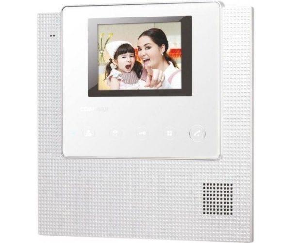 """Commax CDV-43U/VZ белый 4.3"""" цветной CVBS видеодомофон"""