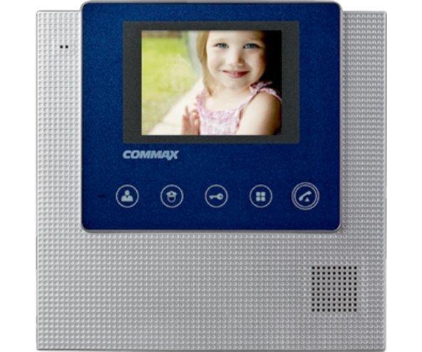 "Commax CDV-43U/VZ синий 4.3"" цветной CVBS видеодомофон"