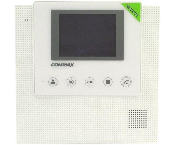 """Commax CDV-43U/XL белый 4.3"""" цветной CVBS видеодомофон"""