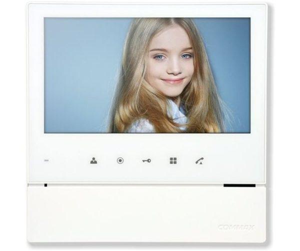 """Commax CDV-70H2/VZ белый 7"""" цветной CVBS видеодомофон"""