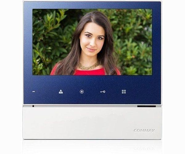 "Commax CDV-70H2/XL синий 7"" цветной CVBS видеодомофон"