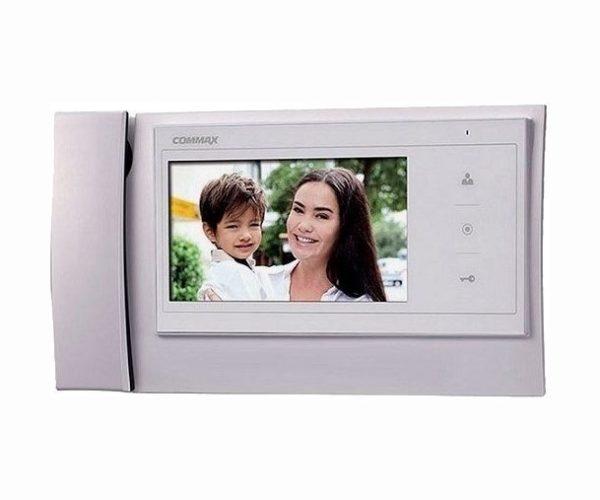"""Commax CDV-70K/XL белый 7"""" цветной CVBS видеодомофон"""