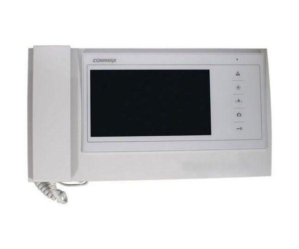 """Commax CDV-70KM белый 7"""" цветной CVBS видеодомофон"""