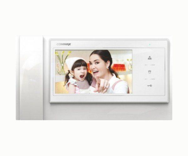 """Commax CDV-70KM/XL белый 7"""" цветной CVBS видеодомофон"""
