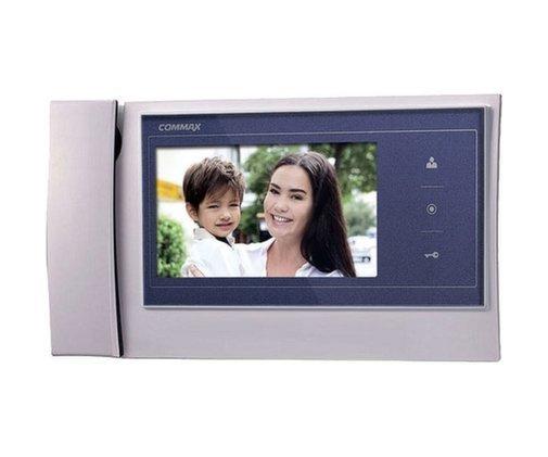 "Commax CDV-70KM/XL синий 7"" цветной CVBS видеодомофон"