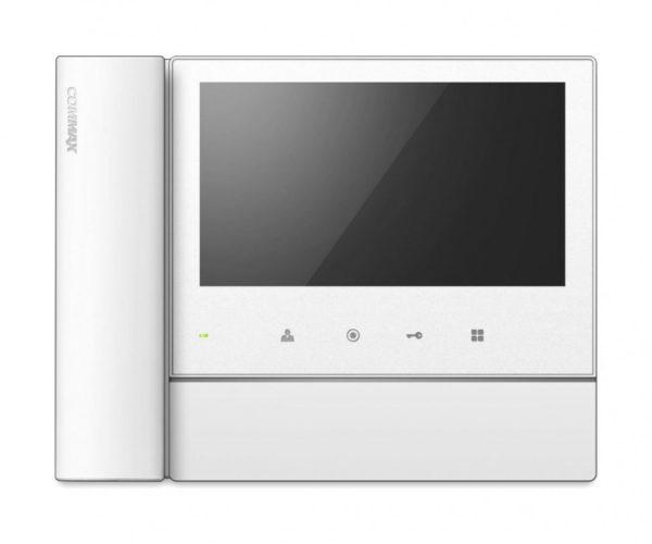 """Commax CDV-70NM белый 7"""" цветной CVBS видеодомофон"""