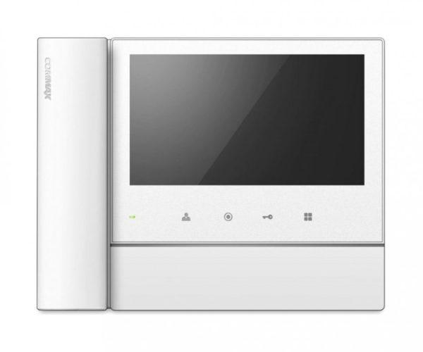 """Commax CDV-70NM/VZ белый 7"""" цветной CVBS видеодомофон"""
