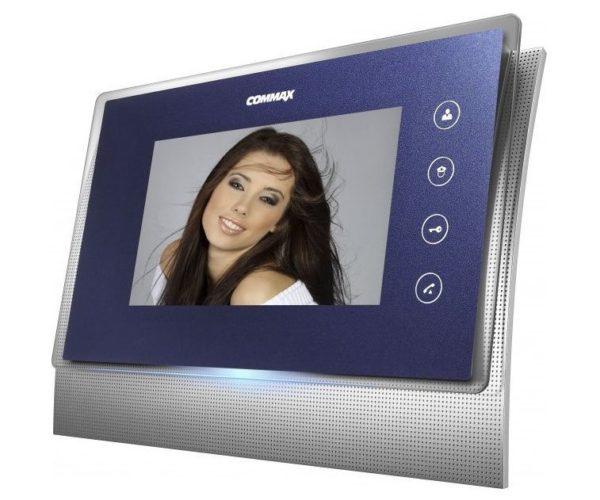 "Commax CDV-70U темно-синий 7"" цветной CVBS видеодомофон"