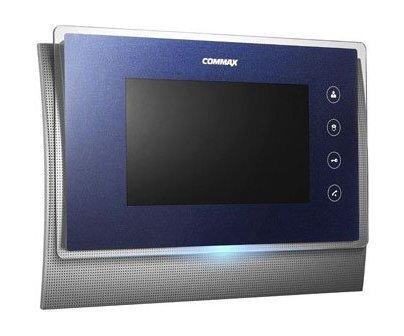"""Commax CDV-70UM темно-синий 7"""" цветной CVBS видеодомофон"""