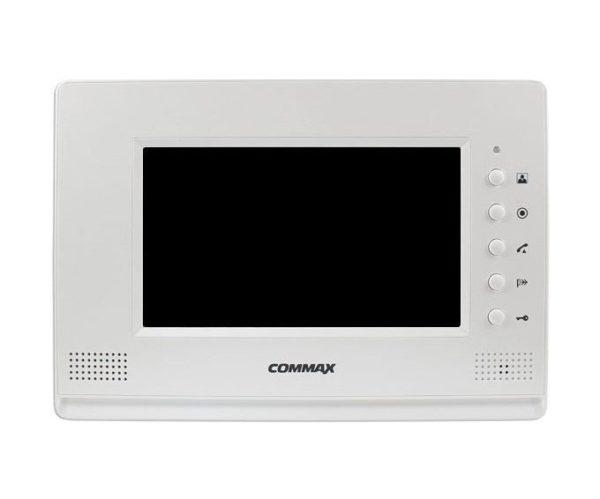 """Commax CDV-71AM белый 7"""" цветной CVBS видеодомофон"""