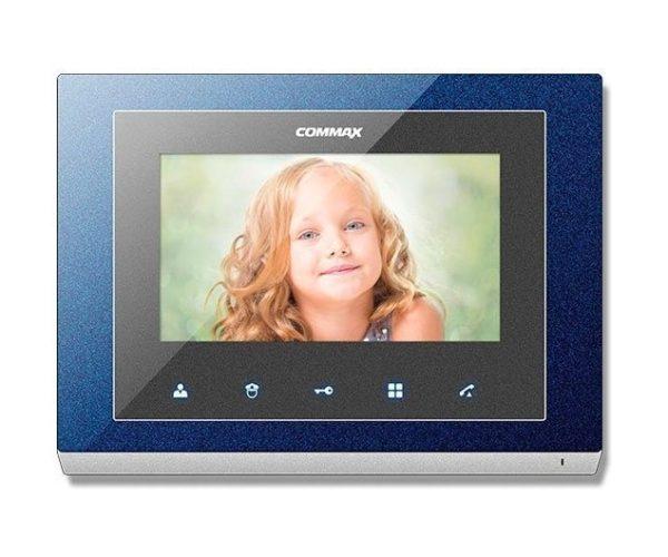 """Commax CMV-70S синий 7"""" цветной CVBS видеодомофон"""