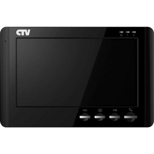 """CTV-M1704MD черный 7"""" цветной CVBS видеодомофон"""
