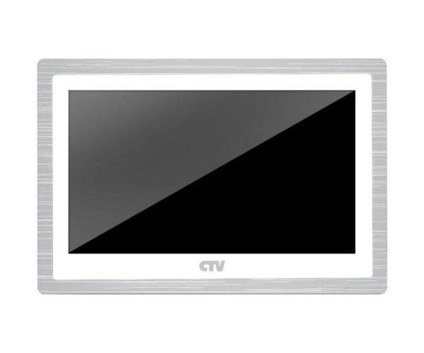 "CTV-M4104AHD белый 10"" цветной AHD, CVBS, CVI, TVI видеодомофон"