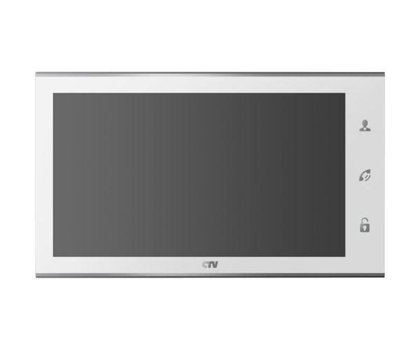 "CTV-M4105AHD белый 10"" цветной AHD, CVBS, CVI, TVI видеодомофон"