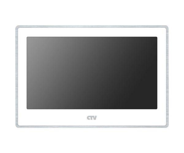 "CTV-M4704AHD белый 7"" цветной AHD, CVBS, CVI, TVI видеодомофон"