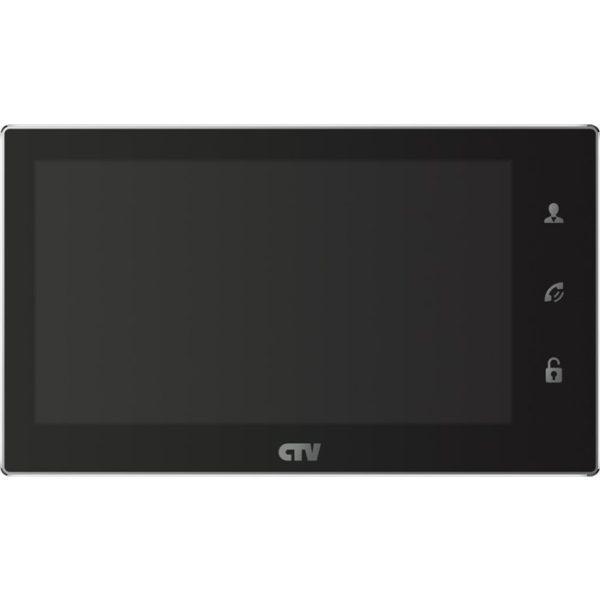 """CTV-M4706AHD черный 7"""" цветной AHD, CVBS, CVI, TVI видеодомофон"""
