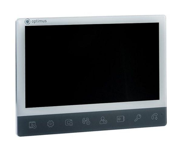 "Optimus VMH-10 белый/серебро_v.1 10"" цветной AHD, CVBS, CVI, TVI видеодомофон"