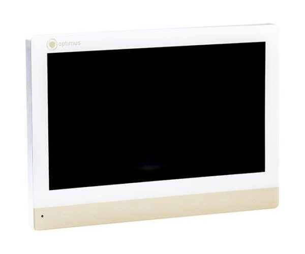 "Optimus VMH-7 белый/золото 7"" цветной AHD, CVBS, CVI, TVI видеодомофон"