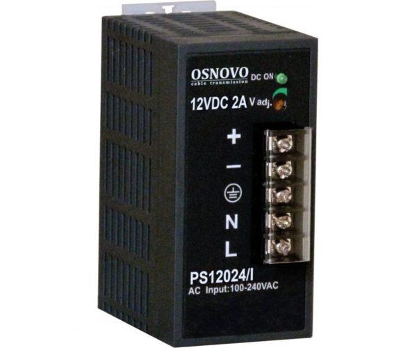 OSNOVO PS-12024/I блок питания 12 В, выходной ток 2А на DIN-рейку