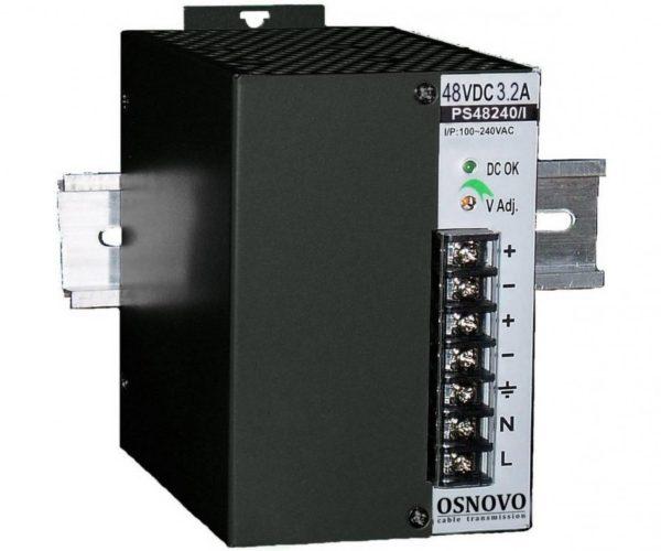 OSNOVO PS-48240/I блок питания 48 В, выходной ток 5А на DIN-рейку