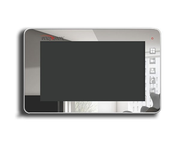 "Polyvision PVD-7S v.7.3 chrome 7"" цветной CVBS видеодомофон"