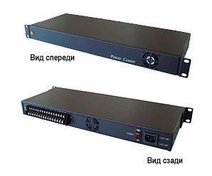 """SC&T PR1616-12R блок питания 12 В, выходной ток 16А в 19"""" стойку"""