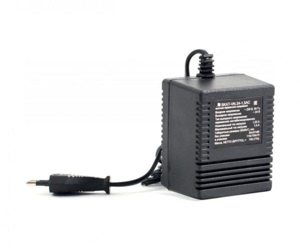 SKAT-VN.24-1,5АС блок питания 24 В, выходной ток 1.5А навесной