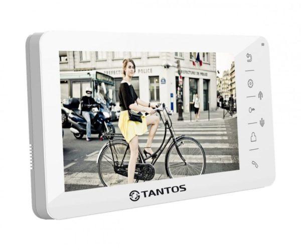 """Tantos Amelie HD белый 7"""" цветной CVBS видеодомофон"""