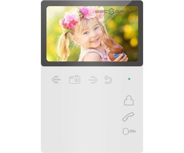 """Tantos Elly S 4.3"""" цветной CVBS видеодомофон"""