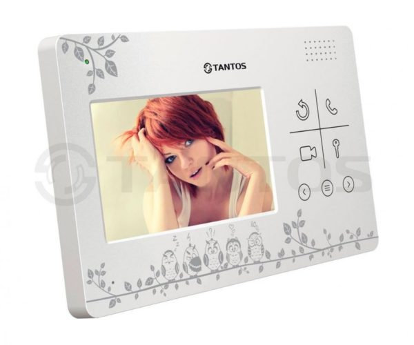 """Tantos LILU LE 4.3"""" цветной CVBS видеодомофон"""