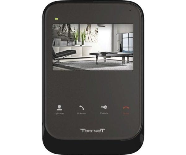 """Tor-Net TR-26 B 4"""" цветной CVBS видеодомофон"""