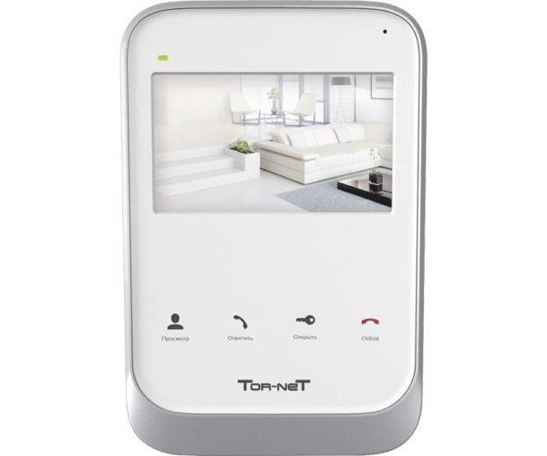 """Tor-Net TR-26 W 4"""" цветной CVBS видеодомофон"""