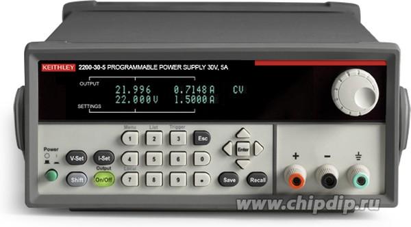 2200-20-5, Источник питания программируемый, 0-20В 0-5А 100Вт (Госреестр РФ)