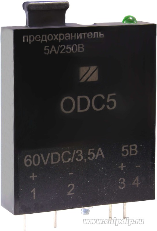 5ПЖ-ОDC5, Выходной модуль постоянного тока с оптоэлектронной развязкой (УСО)