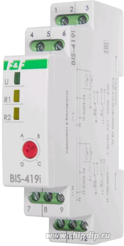 BIS-419i, Реле импульсное