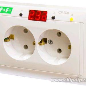 CP-708, Реле контроля напряжения встроенное в розетку