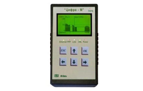 Цифра-М Универсальный тестер ХDSL (поддерживаемые технологии - ADSL, ADSL2, ADSL2+), измеритель первичных параметров U, R, C и LAN-Тестер в одном пр