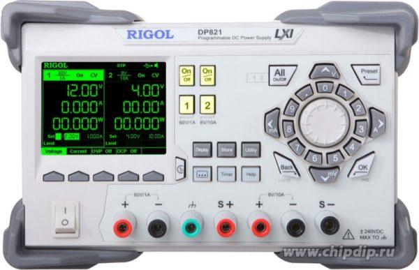 DP821, Источник питания программируемый, USB (Госреестр РФ)