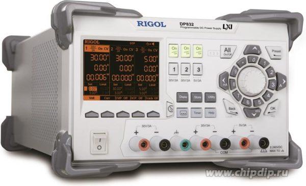 DP832, Источник питания программируемый 0-30V-3A, USB