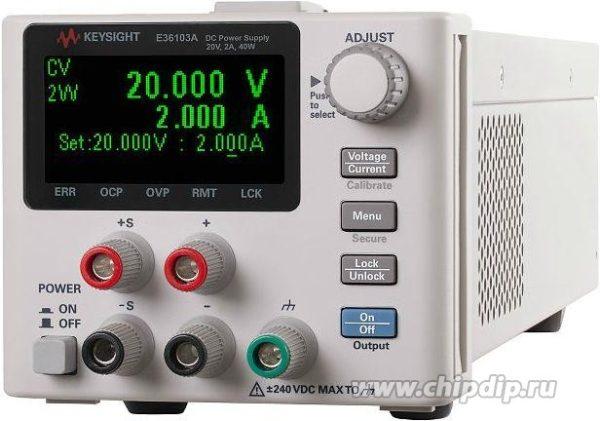 E36105A, Источник питания постоянного тока 36 Вт, 60 В, 0.6 А